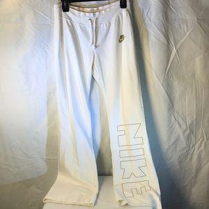 Nike sport cotton pants new Sz XS